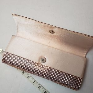 The Limited Bags - The Limited Pale Pink Sparkly Clutch